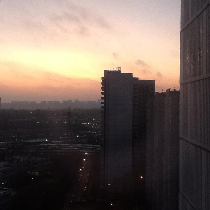 Утро.ноябрь